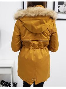 Zimná dámska párka bunda Venus horčicová