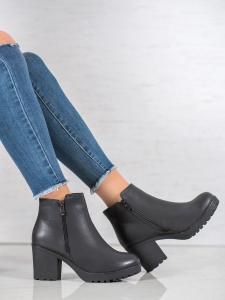 Zateplené topánky na platforme