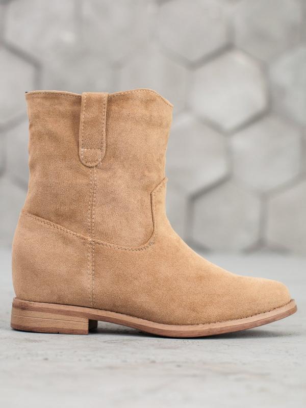 Béžové ploché topánky