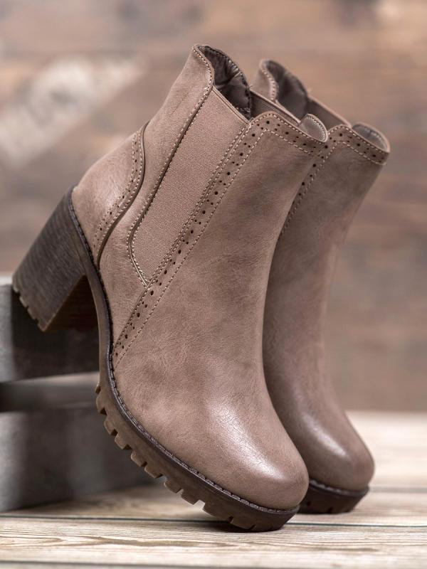 Nazúvacie topánky na platforme