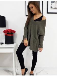 Dámsky sveter Ivette khaki