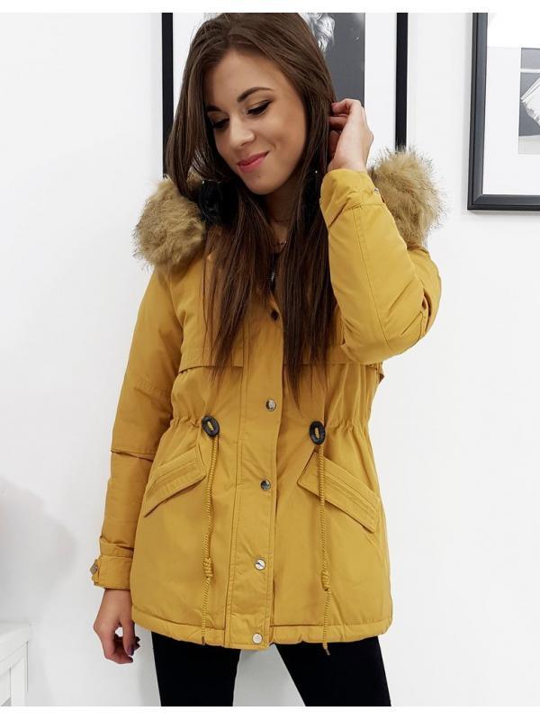 Obojstranná dámska párka bunda Ofelia hnedá