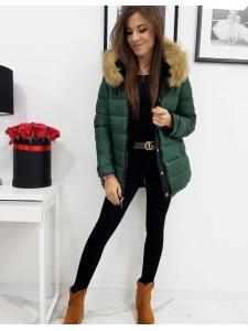 Obojstranná dámska párka bunda Ofelia čierna