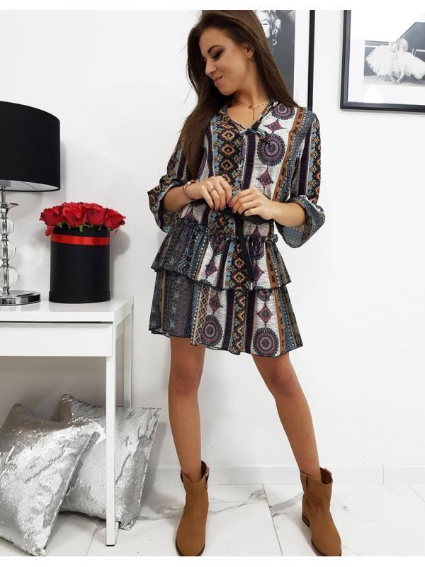 Šaty Diana so vzorom