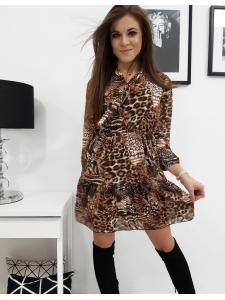 Šaty Belle so zvieracím vzorom
