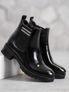 Športové členkové topánky na platforme