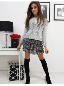 Svetlošedý dámsky sveter Aviene