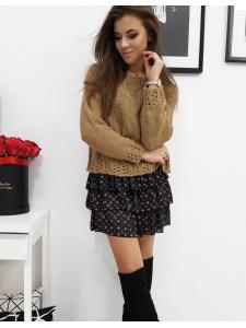 Hnedý dámsky sveter Aviene