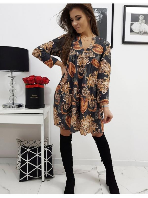 Čierne šaty Emilie