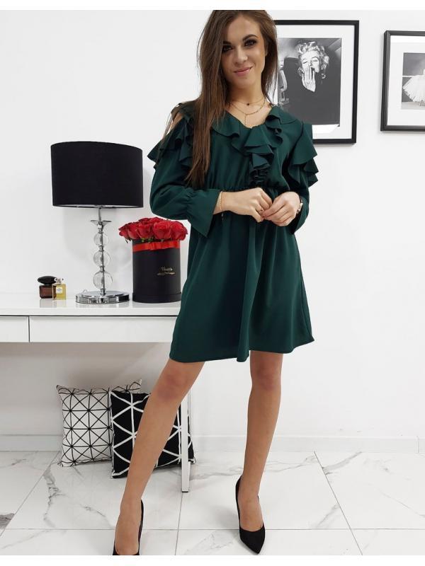 Zelené šaty Celine