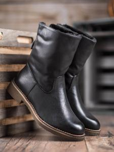 Zateplené členové topánky