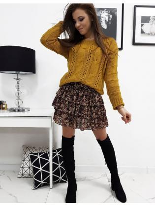 Dámsky horčicový sveter Susane