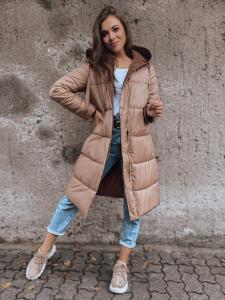 Dámska khaki zimná párka bunda