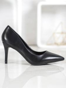Elegantné čierne lodičky