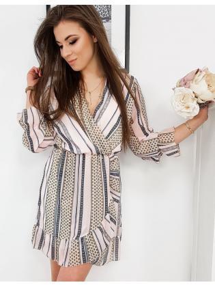 Sveto rúžové šaty Amelia