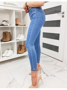 Modré dámske džínsy Skinny Fit Bella