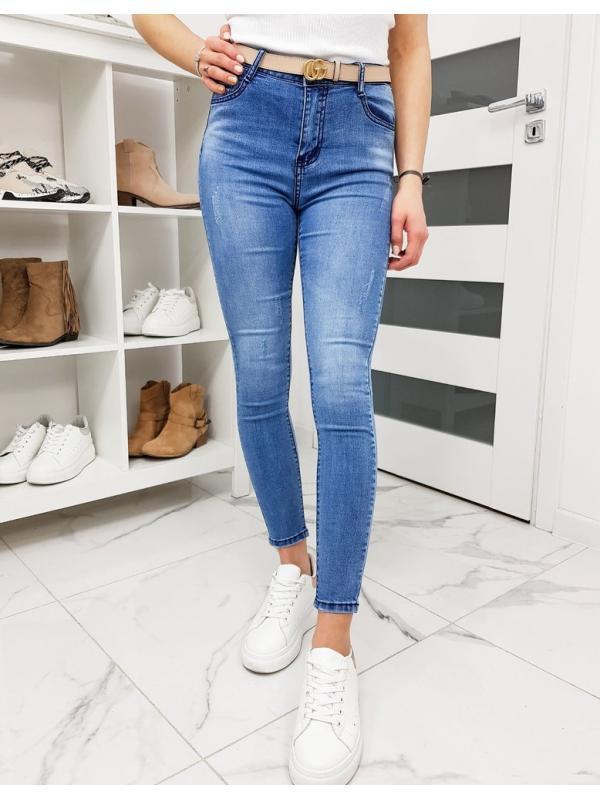 Modré dámske džísny Fit Supreme