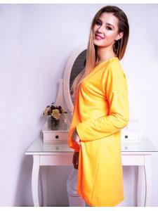 Dámska neónovo pomarančová blúzka Look