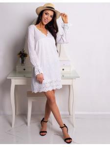 Biele šaty Calm