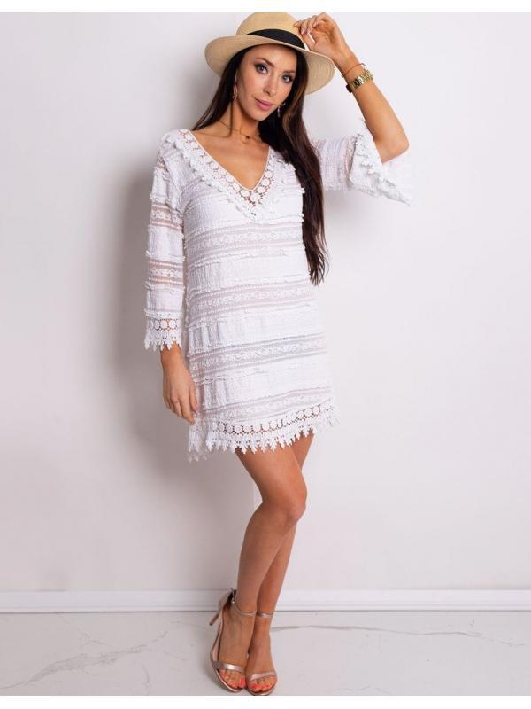 Biele šaty Lea