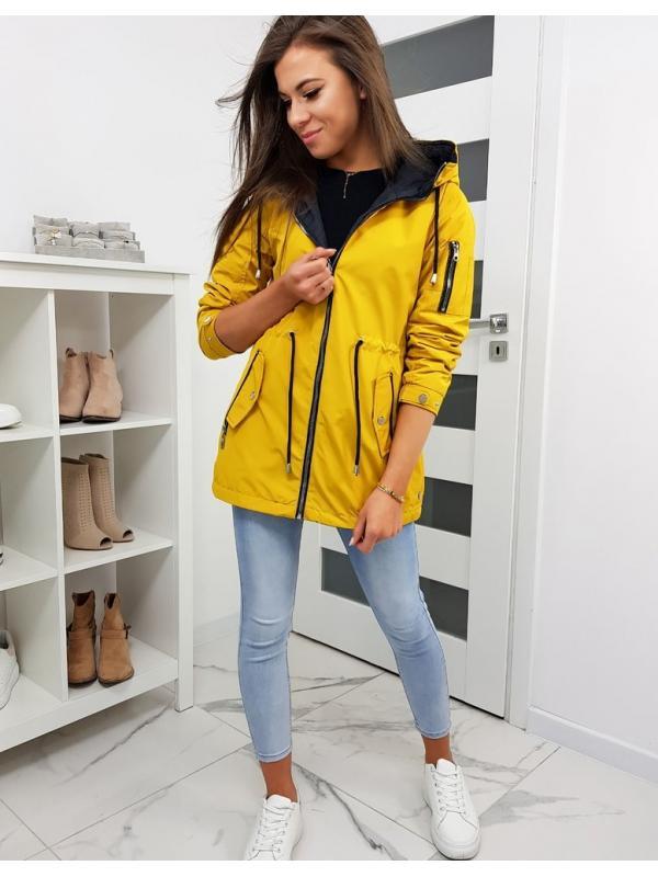 Dámska žltá párka bunda Avona