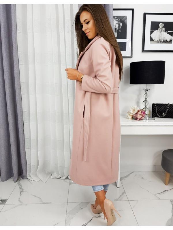 Dámsky kabát Claudia ružový