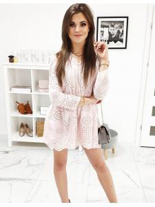 Ružové šaty Jeanne