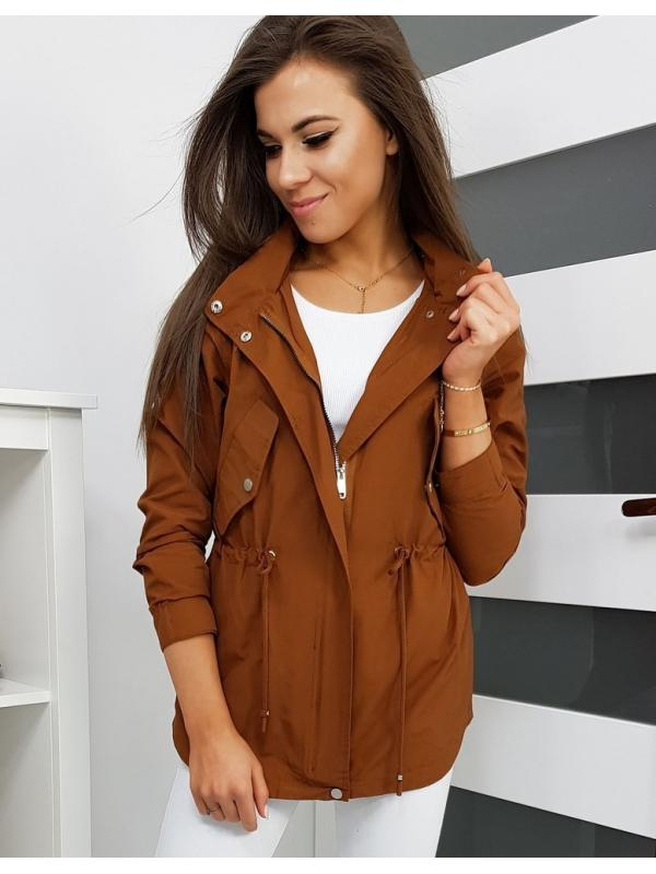 Dámska párka bunda Bolonia hnedá