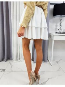 Biela sukňa Miracle