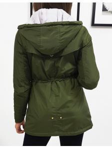 Zelená dámska bunda Macao