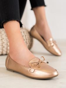 Elegantné zlaté baleríny