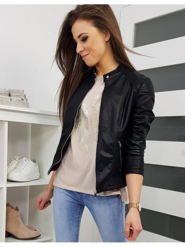 Čierna dámska bunda Belinda
